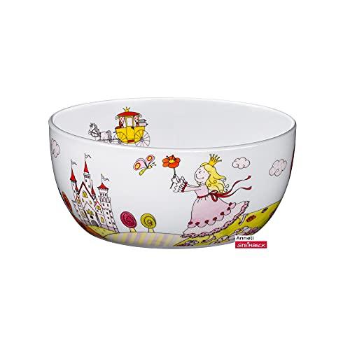 WMF Prinzessin Anneli Kindergeschirr Kinder-Müslischale 13,8 cm, Porzellan, spülmaschinengeeignet, farb- und lebensmittelecht