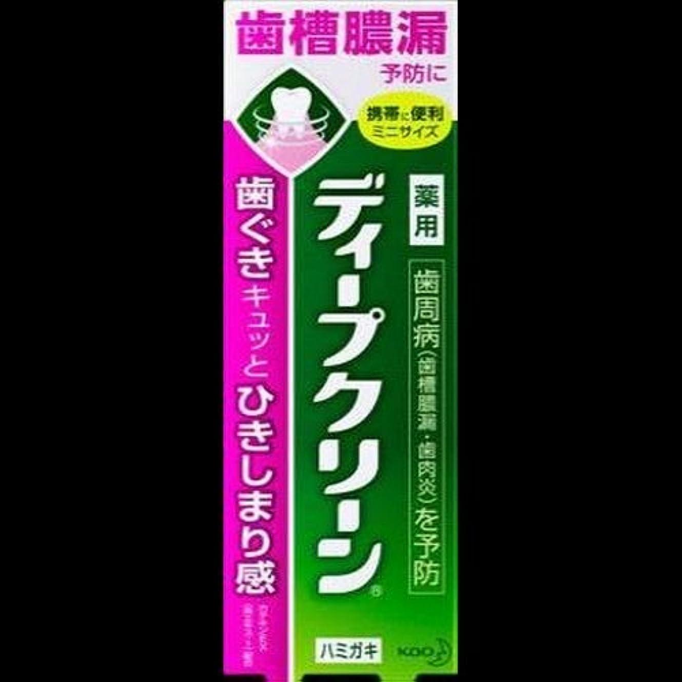 菊中絶農民【まとめ買い】ディープクリーン 薬用ハミガキ 60g ×2セット