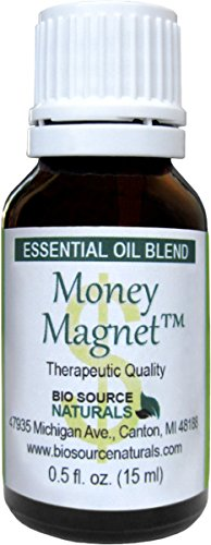 Money Magnet Essential Oil Blend 0.5 fl oz / 15 ml for Law of Attraction and Abundance