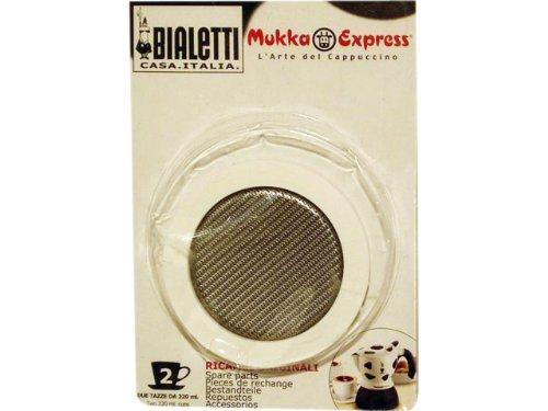 Uszczelka i filtr do Bialetti Mukka Express