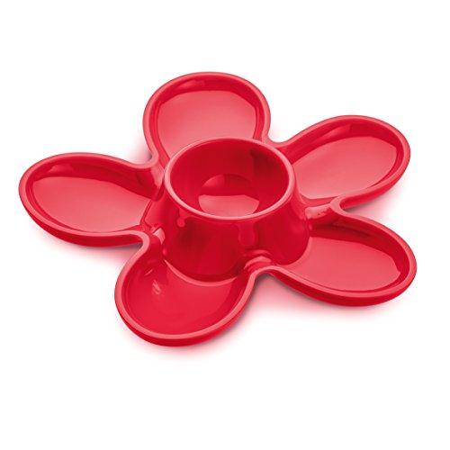 Koziol 3073103 A-Pril Coquetier Plastique Framboise 13,1 x 13,6 x 2,5 cm rouge