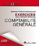 Comptabilité générale - Exercices avec corrigés detaillés