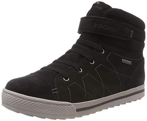 viking Unisex-Kinder Eagle IV GTX Hohe Sneaker, Schwarz (Black 2), 36 EU