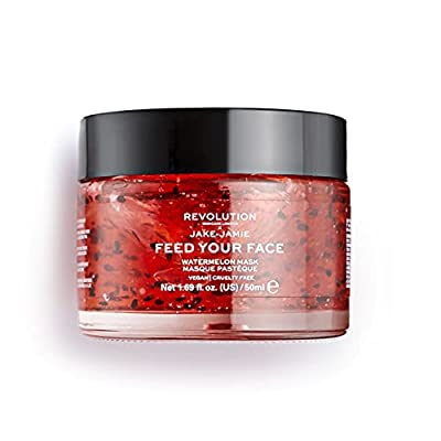 Revolution Skincare Skincare Jake Jamie Watermelon Hydrating Face Mask from Revolution Beauty Limited