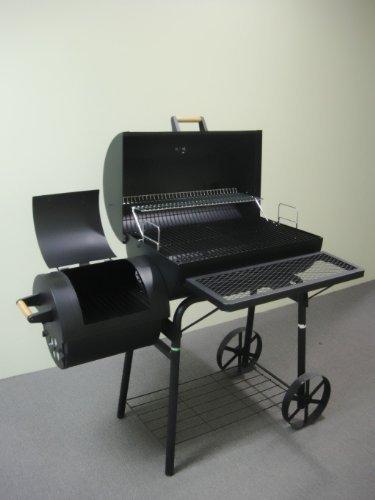 Smoker XL mit 1,5mm Stahl - der perfekter Einsteigergrill