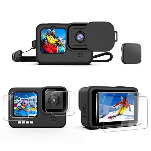 Kupton Kit de Accesorios para GoPro HERO9 Black 10 Piezas, F