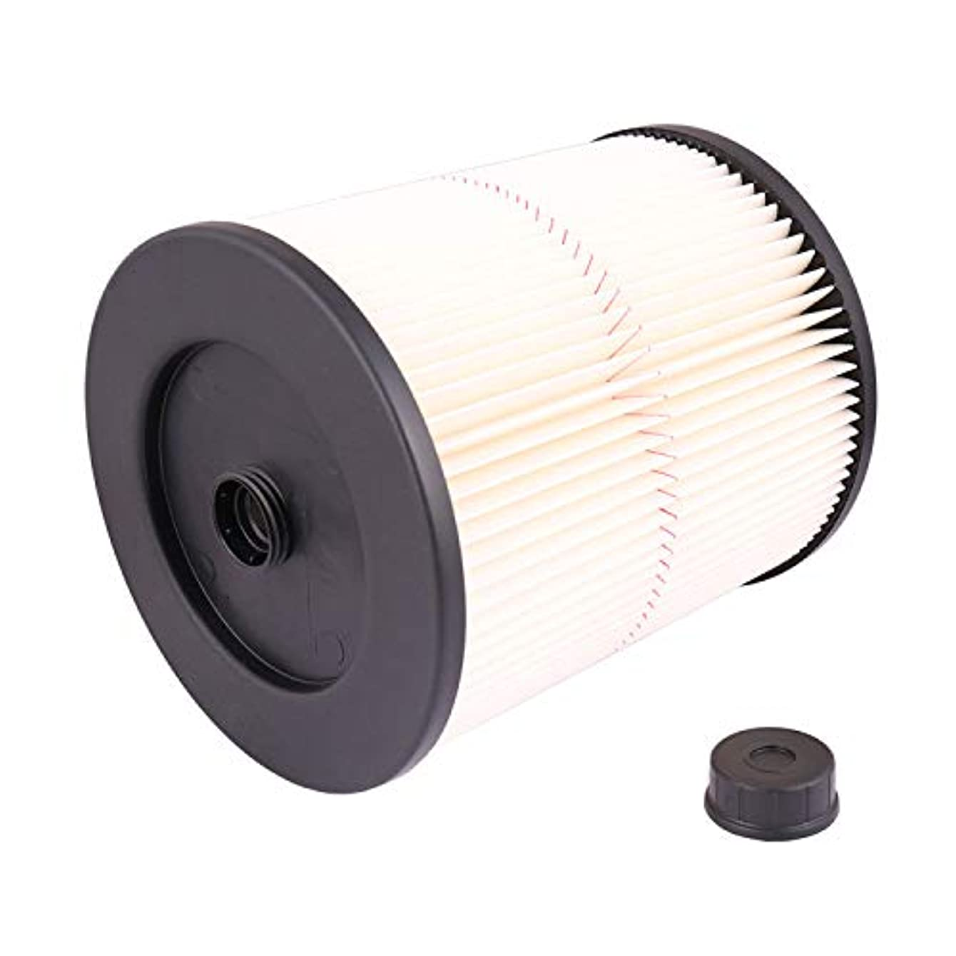 Dutong Replacement Filter Fit Shop Vac Craftsman 17816 9-17816 Wet Dry Vacuum Air Cartridge Filter for 5 Gallon Vacuum Cleaner