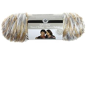 Loops & Threads Soft & Shiny Yarn 1 Ball Shimmer 4 Ounces