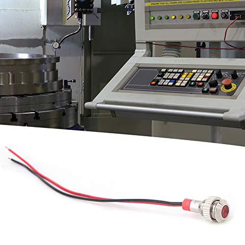 Lámpara, modificación de automóvil, interruptor de control de acceso de modificación de automóvil de batería impermeable duradera para instrumentación de(12V, red)