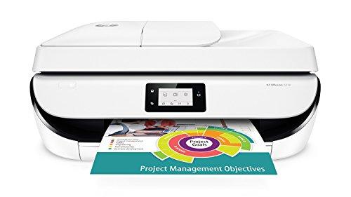 HP OfficeJet 5232 1200 x 1200DPI Tintenstrahl A4 10Seiten pro Minute WLAN - Multifunktionsgeräte (Tintenstrahl, 1200 x 1200 DPI, 100 Blätter, A4, Direkter Druck, Schwarz, Weiß)