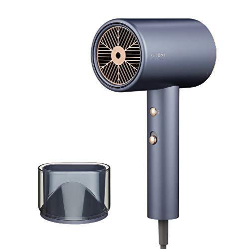 Secador de Agua Profesional Iónico, Secador de 1800 Vatios Con 3 Configuraciones de Temperatura y Velocidades de Viento Para Familias y Salones