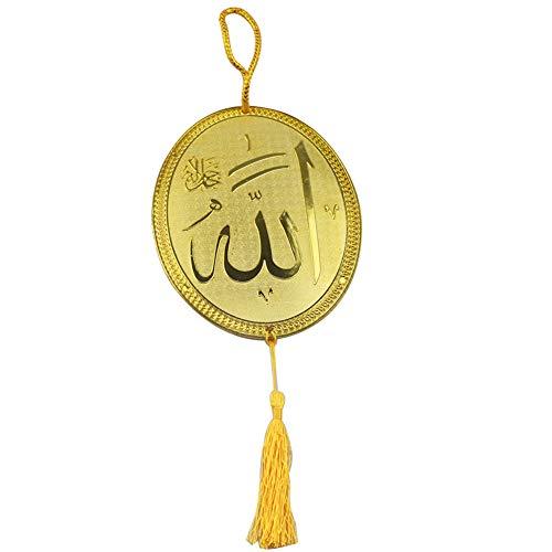 BeesClover Ovale Dekoration Anhänger Islam-Stil hängend Auto Home Ornament Auto Styling Geschenk JM01816 Creative Lifestyle