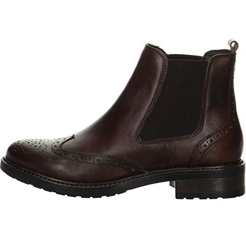 Giorgio Venuti Damen Chelsea Boots Renata Brush braun Gr. 40