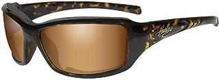 Harley-Davidson Women's Tori Gasket Sunglasses, Tortoise w/Stones Frame HATOR06