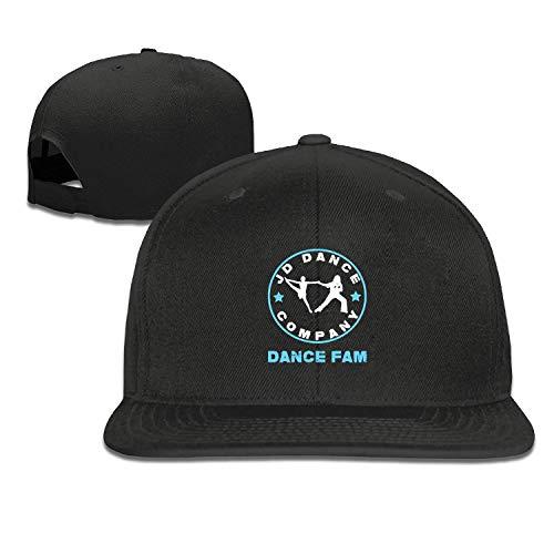 ETXHU Gorras de béisbol para Hombres JD Dance Fam Trucker Cap Ajustable Youth Golf Caps Sombreros