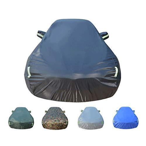 Autoabdeckung Kompatibel mit Chevrolet Bel Air Wagon Car Cover Regenschutz wasserdicht Winddicht UV-Schutz Staubdicht Car Cover Oxford Cloth Car Cover (Color : Black)