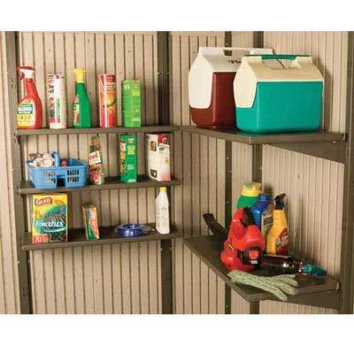 14' x 30' 5 Pack Shelf Accessory Kit For Lifetime Sheds