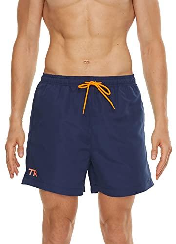 TRABIG Pantaloncini da Bagno Uomo 3D Stampa Tinta Unita, Asciugatura Veloce Calzoncini da Bango Mare Beach, Costume da Bagno Uomo Swim Shorts con Taschino e Coulisse