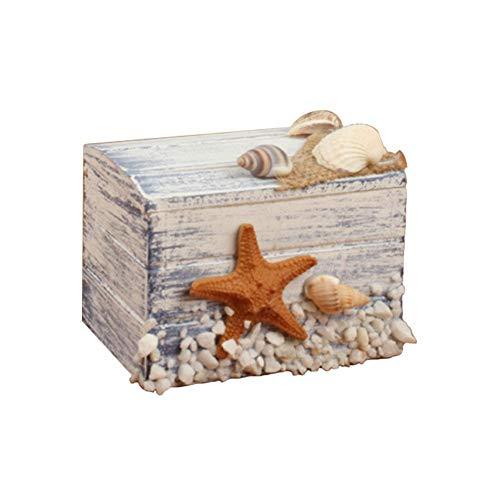 Beeria Aufbewahrungsbox für den Schreibtisch, klassische Holzbox, spezielle Schmuckbox, Süßigkeiten-Box für Frauen, Teenager, Mädchen, Kinder