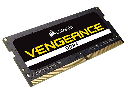 Corsair Vengeance SODIMM 32GB (1x32GB) DDR4 2666 C18 1.2V for Intel 9th & 10th Gen Systems CMSX32GX4M1A2666C18