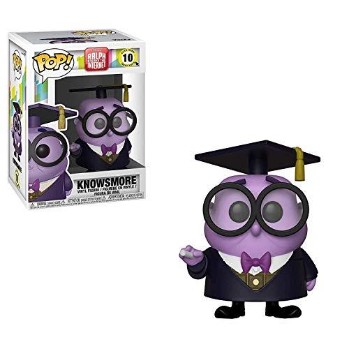 Funko- Pop Disney: Wreck-It Ralph 2-Knowsmore Figura Vinilo, Multicolor (33415)