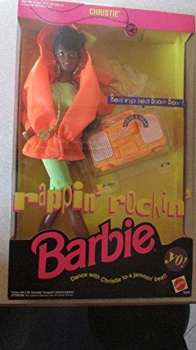 Barbie Rappin' Rockin' CHRISTIE Doll AA w Working Boom Box! (1991)