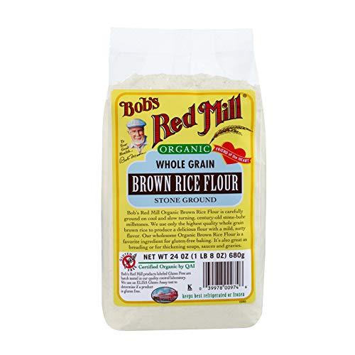 Bob´s Red Mill Harina de Arroz Obscuro Orgánica, 680 g