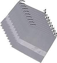Ibnotuiy 10Pcs Non-Woven Fabric Dustproof Handbag Storage Organizer Drawstring Bag Dust Cover Medium (Gray)