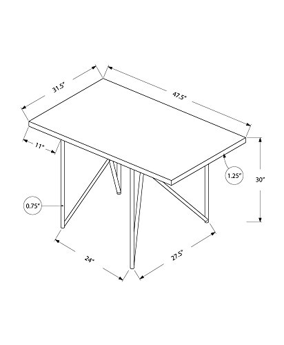 Monarch Specialties I Dining Table - 32