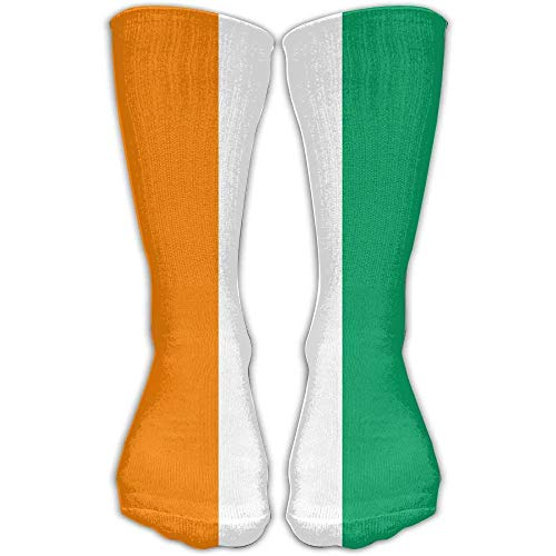 hgfyef Flag of Ivory Coast Athletic Stockings Ankle Socks Sport Casual Socks Cotton Crew Socks Long Sock One Size