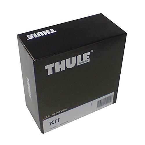 Thule 141716 Kit de Ajuste Personalizado para Montar Techo vehículos sin Puntos de conexión para portaequipajes ni Barras de Serie, Negro, Única, Set de 4