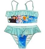 Frozen Bikini Die Eiskönigin Anna und ELSA Tankini (Bikini Pink-Blau, 134-140)