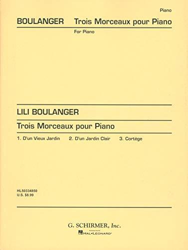 3 Morceaux - Klavier - Buch