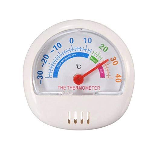 Uokoki Mini Cadran pointeur réfrigérateur Thermomètre 3 Couleurs Réfrigérateur Congélateur Cuisine Remind Chambre temperaturer Mètre de température