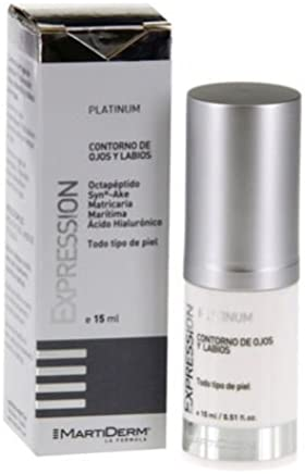 Expression Contorno De Ojos Y Labios, 15 Ml. - Martiderm Care the Skin