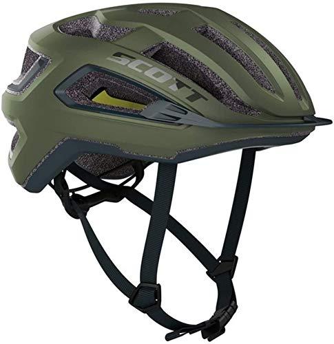 Scott Arx Plus MIPS Cycling Helmet Komodo Green Medium