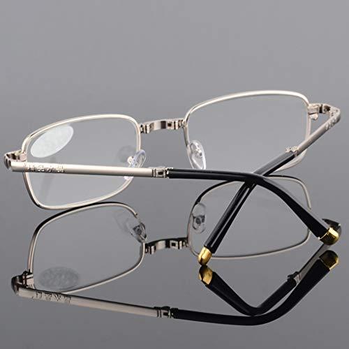 Leesbril, uniseks, opvouwbaar, voor leesetui, voor een elegante look en een helder zicht als kristal wanneer je het nodig hebt.