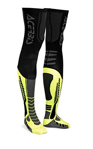 Acerbis X-Leg pro sock Noir/Jaune XXL
