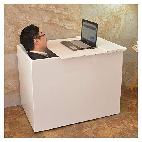 ZHANWEI Baignoire Couverture Anti-Poussière Plateau Baignoire Pliant Soutien for Téléphone Portable Verre De Vin Titulaire, Taille Personnalisable (Color : White, Size : 150x80x0.6cm)
