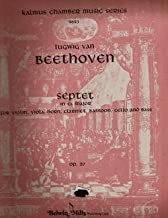 Beethoven. Op.20. Septet in Eb Major. Set of Parts.