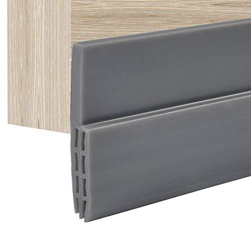 100 cm Silikonkautschuk Tür Streifen Selbstklebende Backdoor Dichtung für Fenster oder Türspalt
