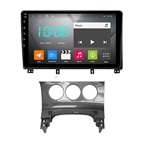 Per PEUGEOT 3008 2009-2012 Android 9.0 Car Stereo 2 Din Head Unit Navigazione GPS Touchscreen da 10 pollici con 4g Wifi Dsp Lettore multimediale Ricevitore video radio, B