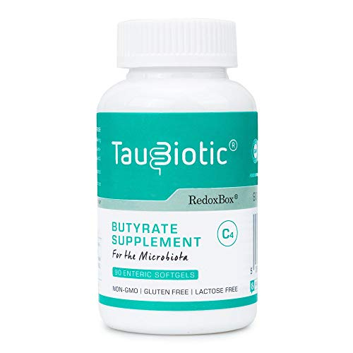 TauBiotic by RedoxBox - Butyrate (tributyrin) Gut Microbiota & Digestion Support - 90 enteric softgel