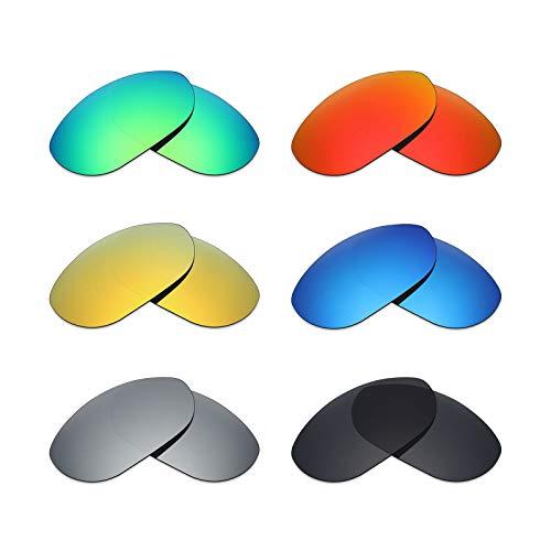 MRY 6Paar Polarisierte Ersatz Gläser für Oakley Monster Dog Sonnenbrille
