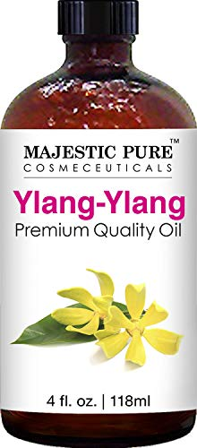 Majestic Pure Ylang Ylang Oil, Premium Quality, 4 fl. oz. …