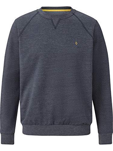 Charles Colby Herren Sweatshirt Earl Linas dunkelblau 4XL (XXXXL) - 68/70
