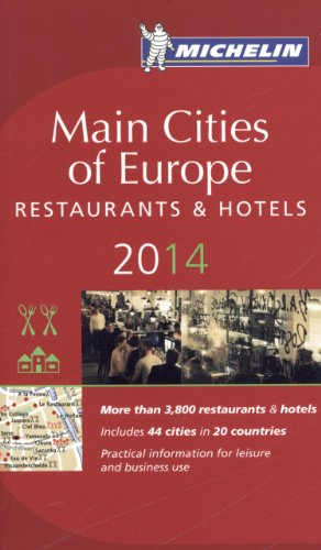 Download Michelin Red Guide 2014 Main Cities of Europe: Restuarants & Hotels 2067189042