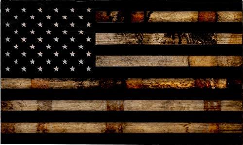 Tactical Traps 1791 Whiskey Barrel American Flag Gun Storage...