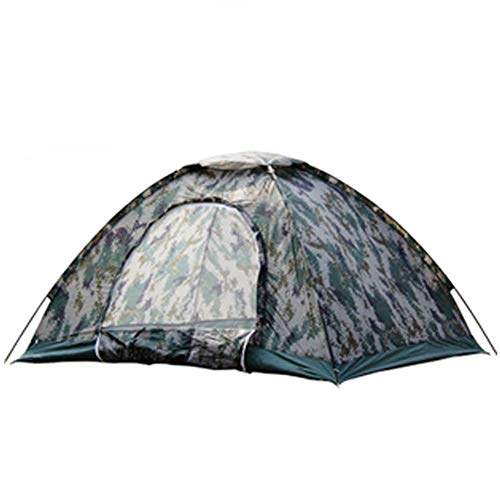 Nanna Camping Tent with Awning Waterproof Tent Compact Tent Unisex Outdoor Dome Tent