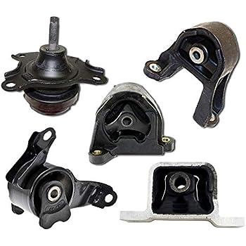 New Engine Motor /& Transmission Mount Set 5pcs For 2007-2011 Honda CR-V 2.4L 4WD